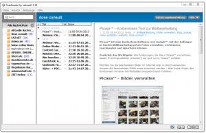 Feedburner - Software zum Lesen von RSS-Feeds