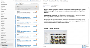 Outlook 2013 zeigt RSS-Feed an